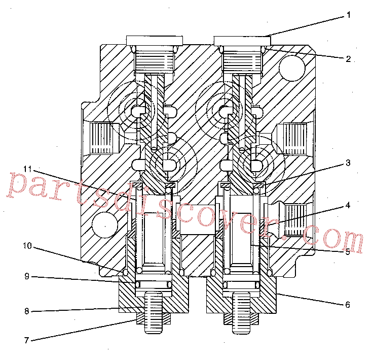 CAT 185-0423 for 316E L Excavator(EXC) hydraulic system 232-4102 Assembly
