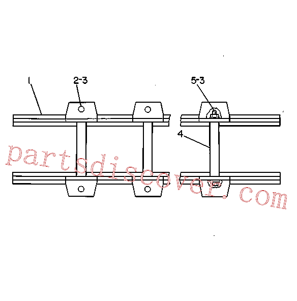 CAT 031-9099 for D9R Track Type Tractor(TTT) chassis and undercarriage 3V-5264 Assembly