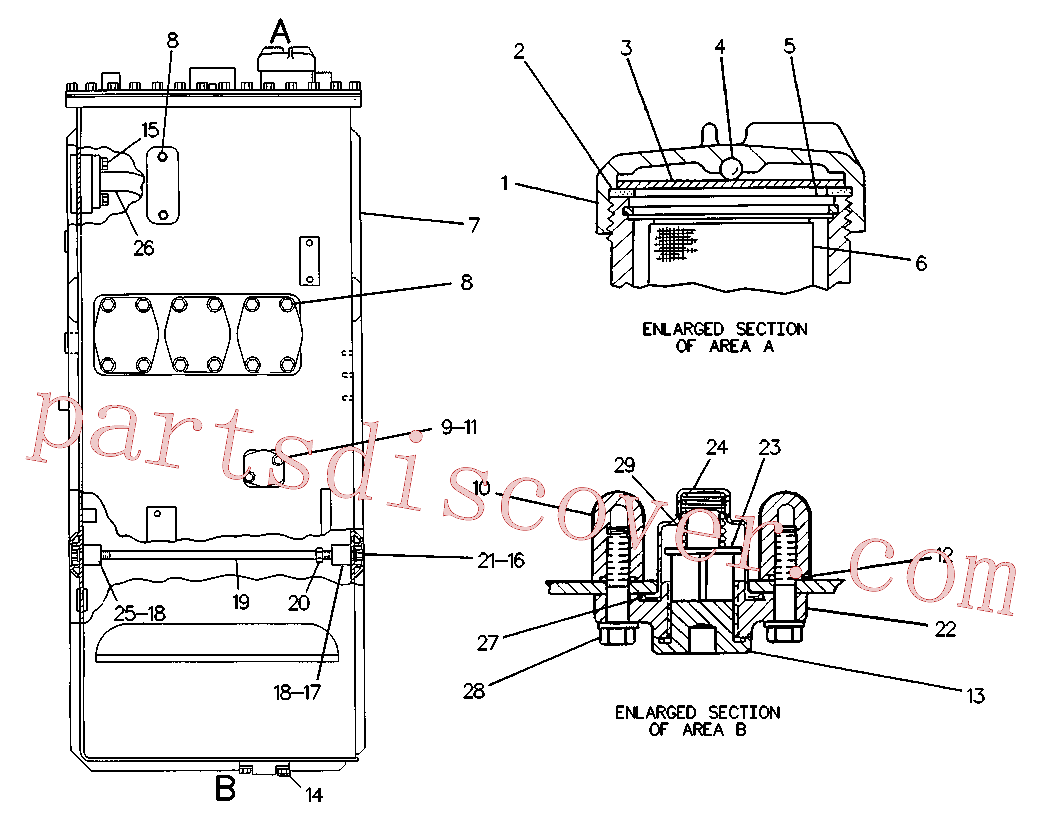 CAT 8T-8917 for G926 Wheel Loader(WTL) hydraulic system 3G-6486 Assembly