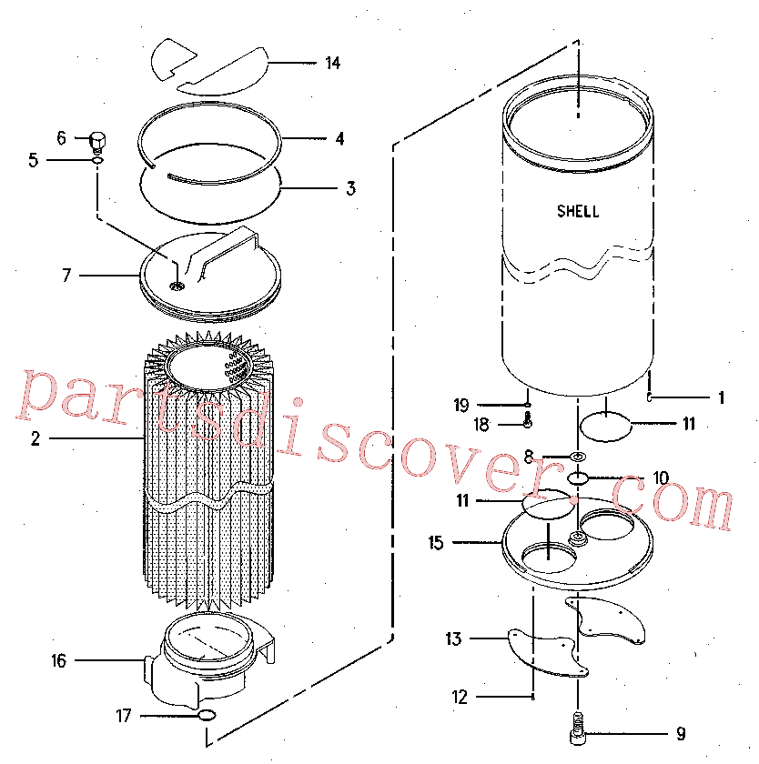 CAT 137-3818 for 312B L Excavator(EXC) hydraulic system 126-2080 Assembly