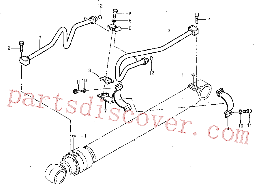 CAT 204-8359 for 336D Excavator(EXC) hydraulic system 192-6908 Assembly
