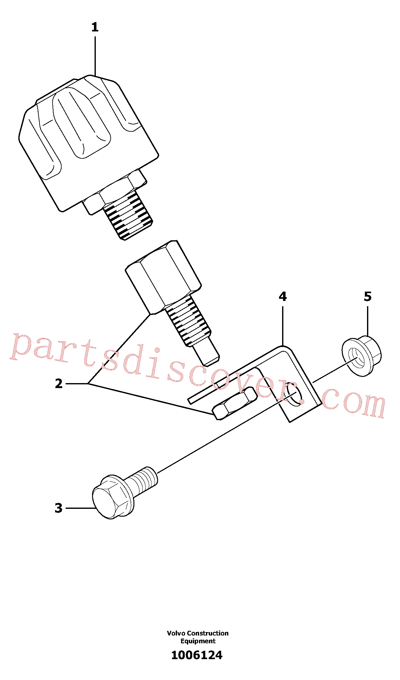 VOE11806426 for Volvo Breather(1006124 assembly)