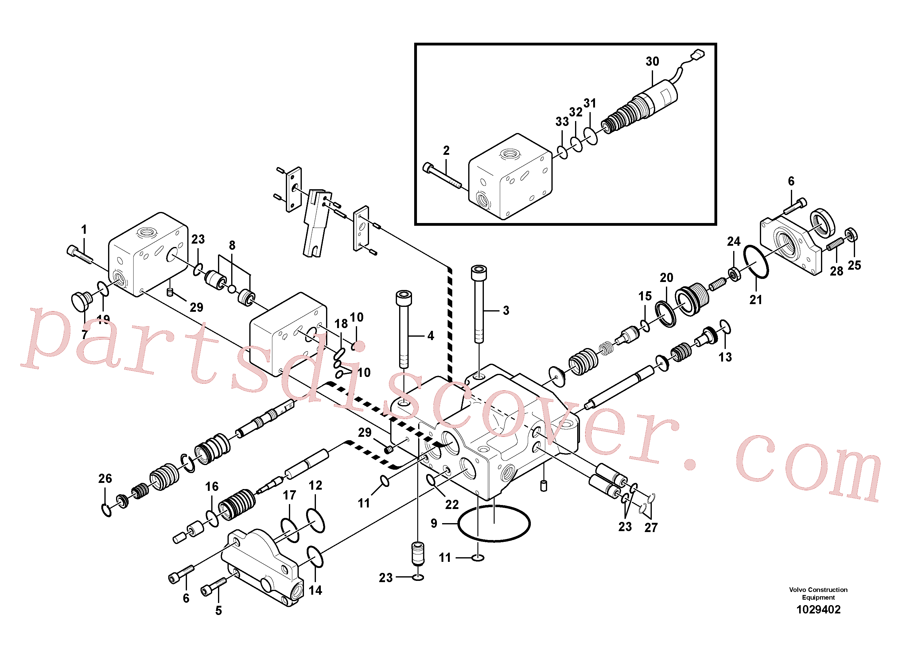 Wholesale VOE14623845 Governor for Volvo Excavator