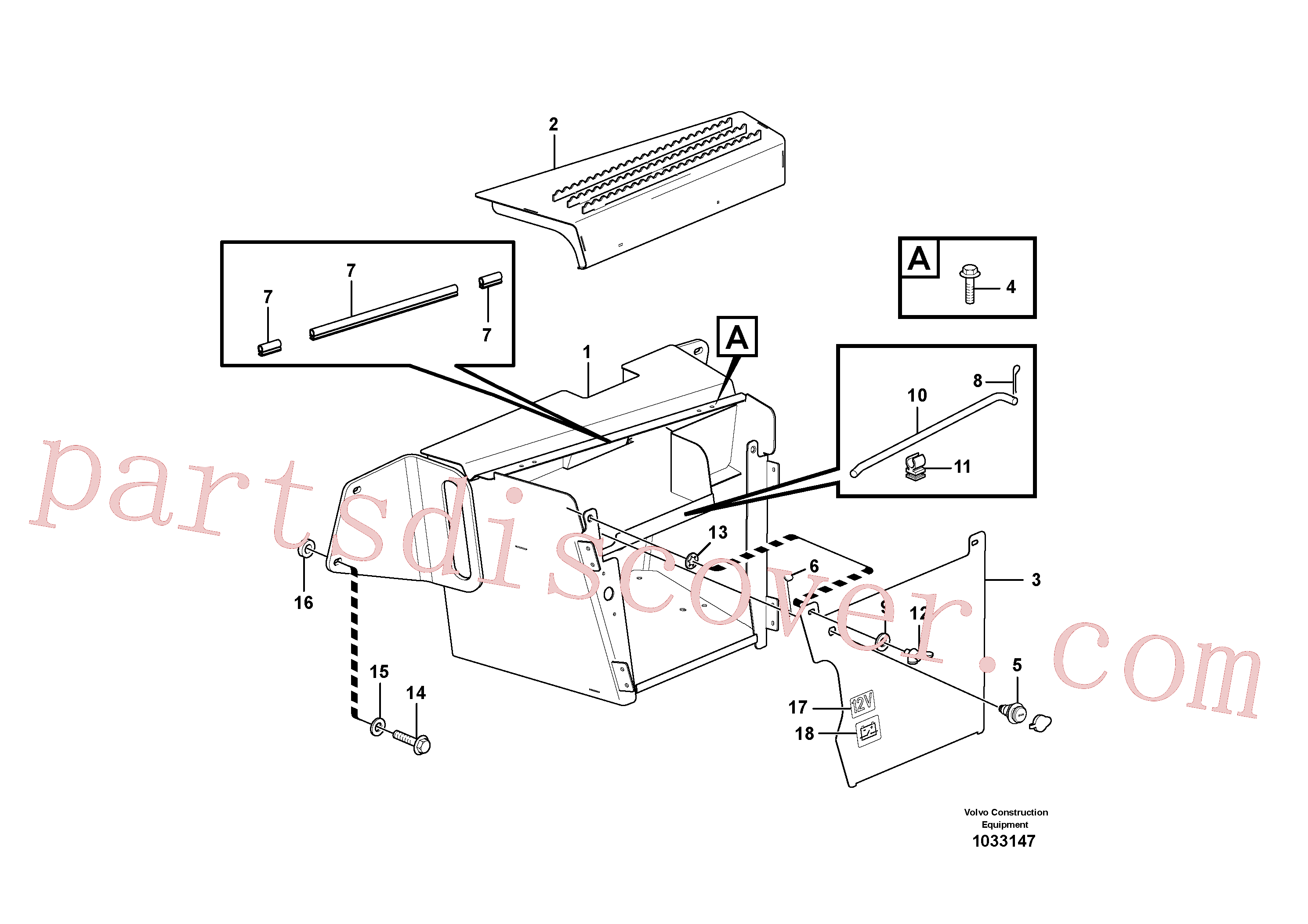 RM94146859 for Volvo Toolbox(1033147 assembly)