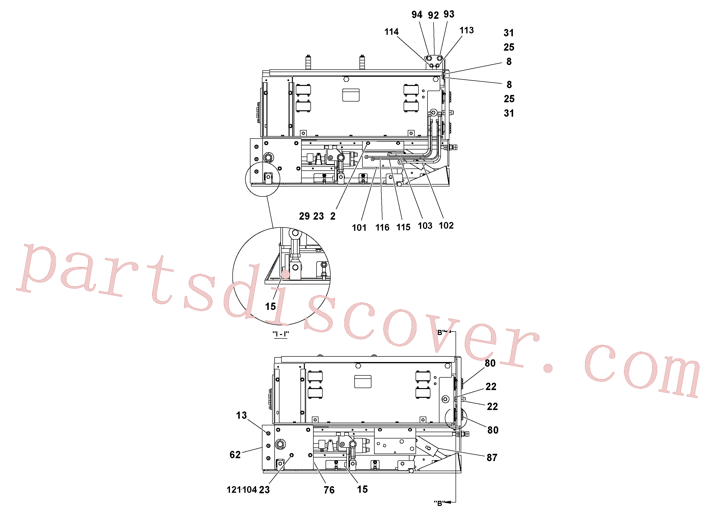 RM59962308 for Volvo 4' Extension Assembly(1036844 assembly)