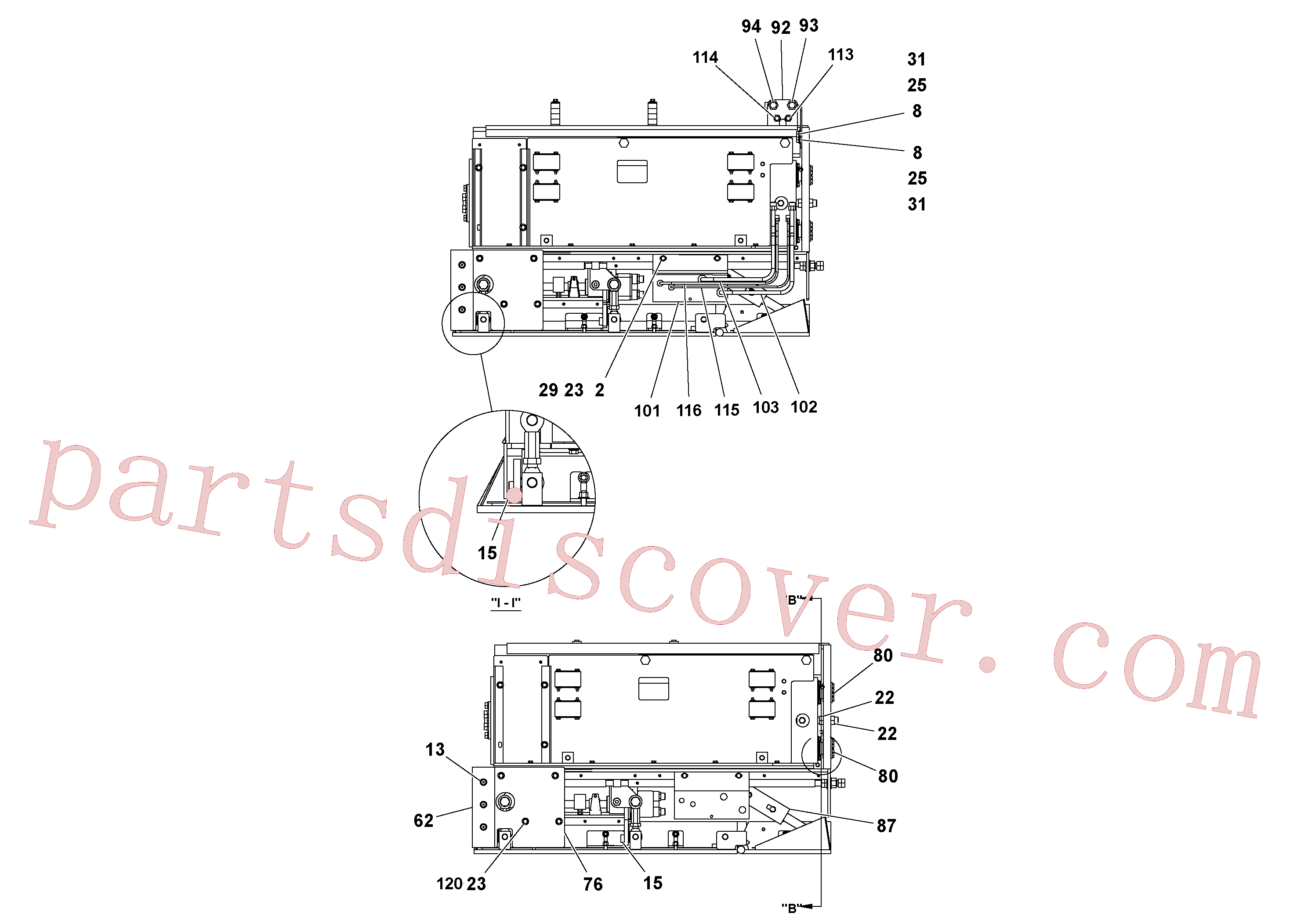 RM59962308 for Volvo 4' Extension Assembly(1036862 assembly)