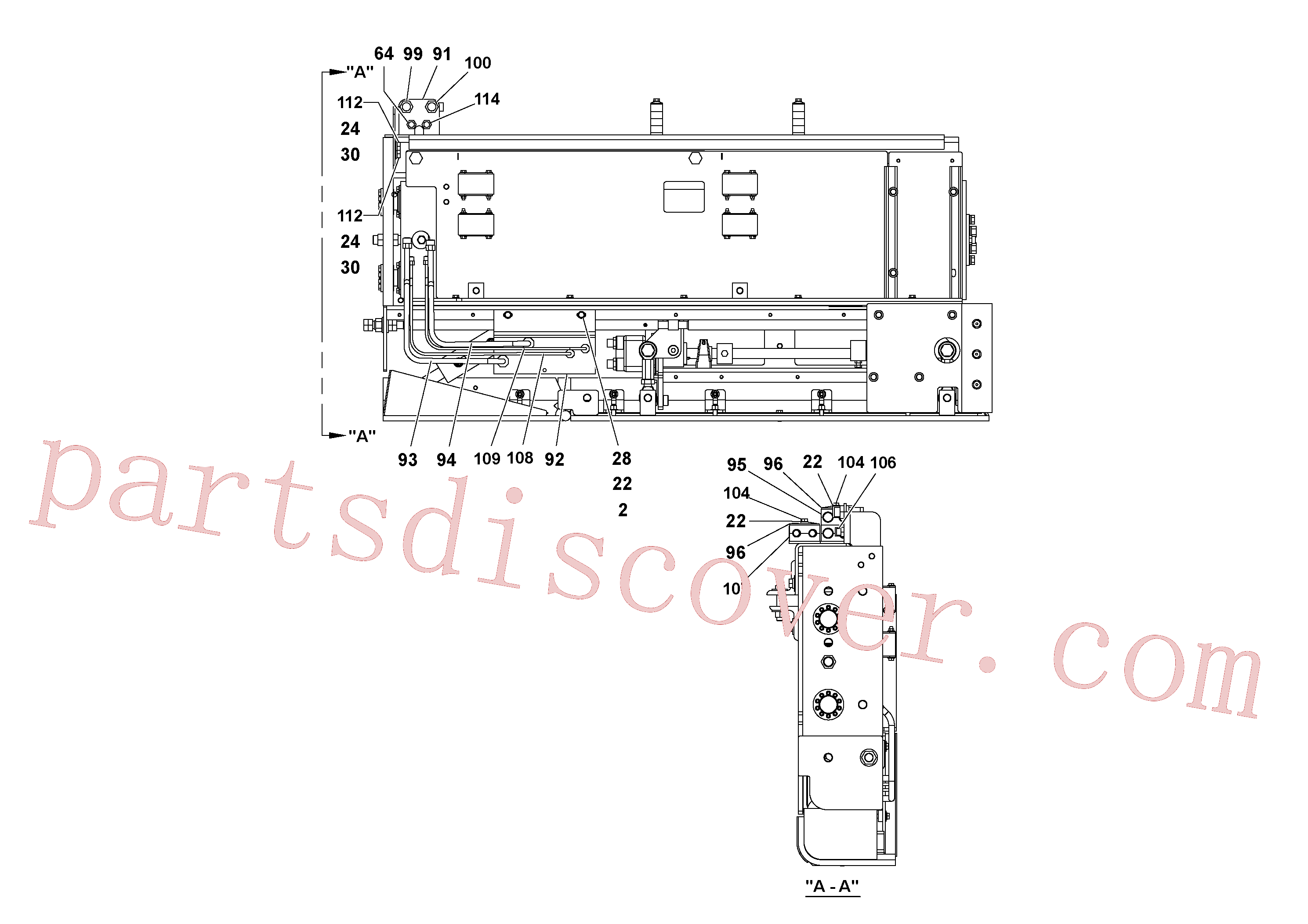 RM20188629 for Volvo 5' Extension Assembly(1036981 assembly)