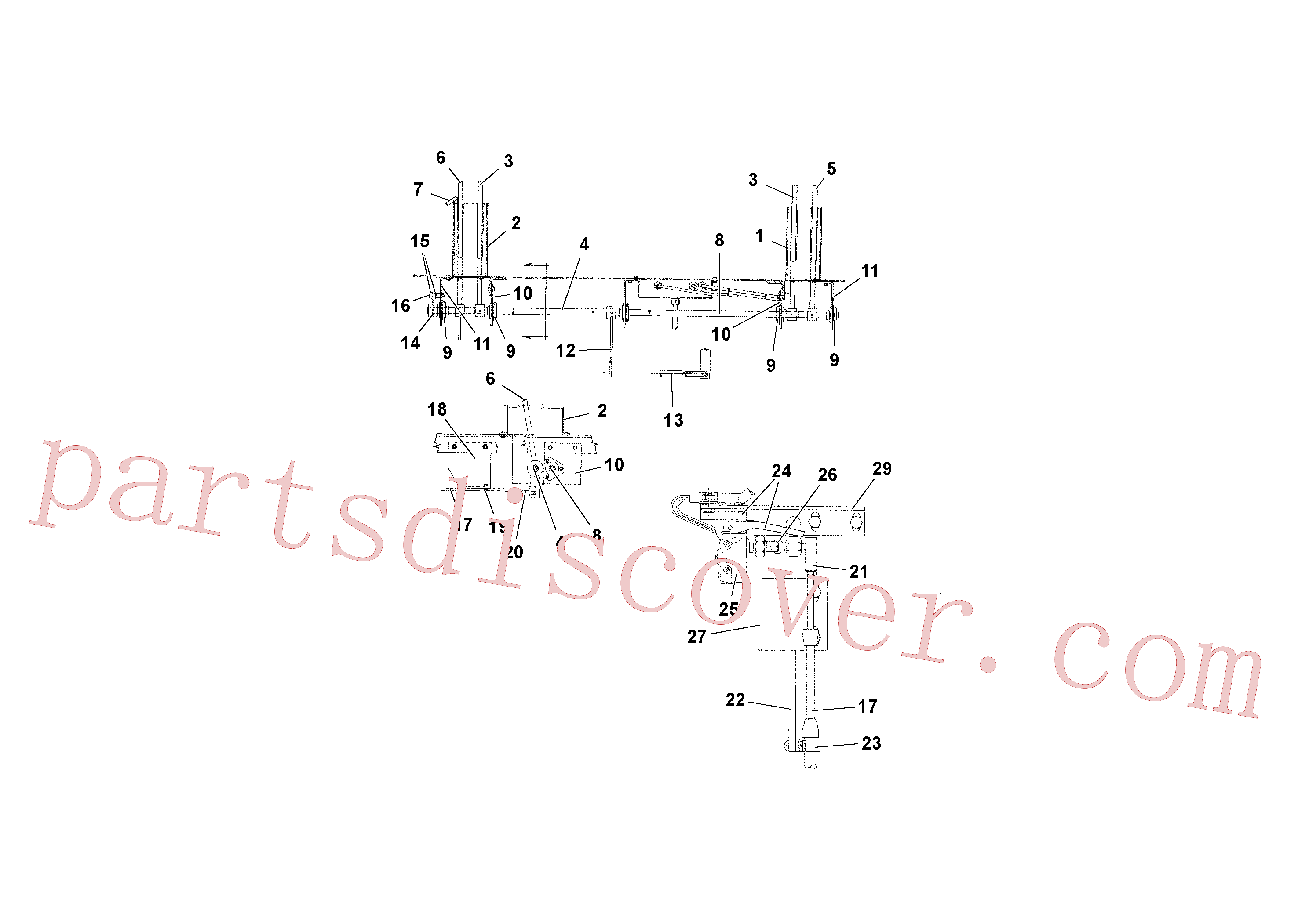 RM59374165 for Volvo Travel and Conveyor Controls(1039296 assembly)