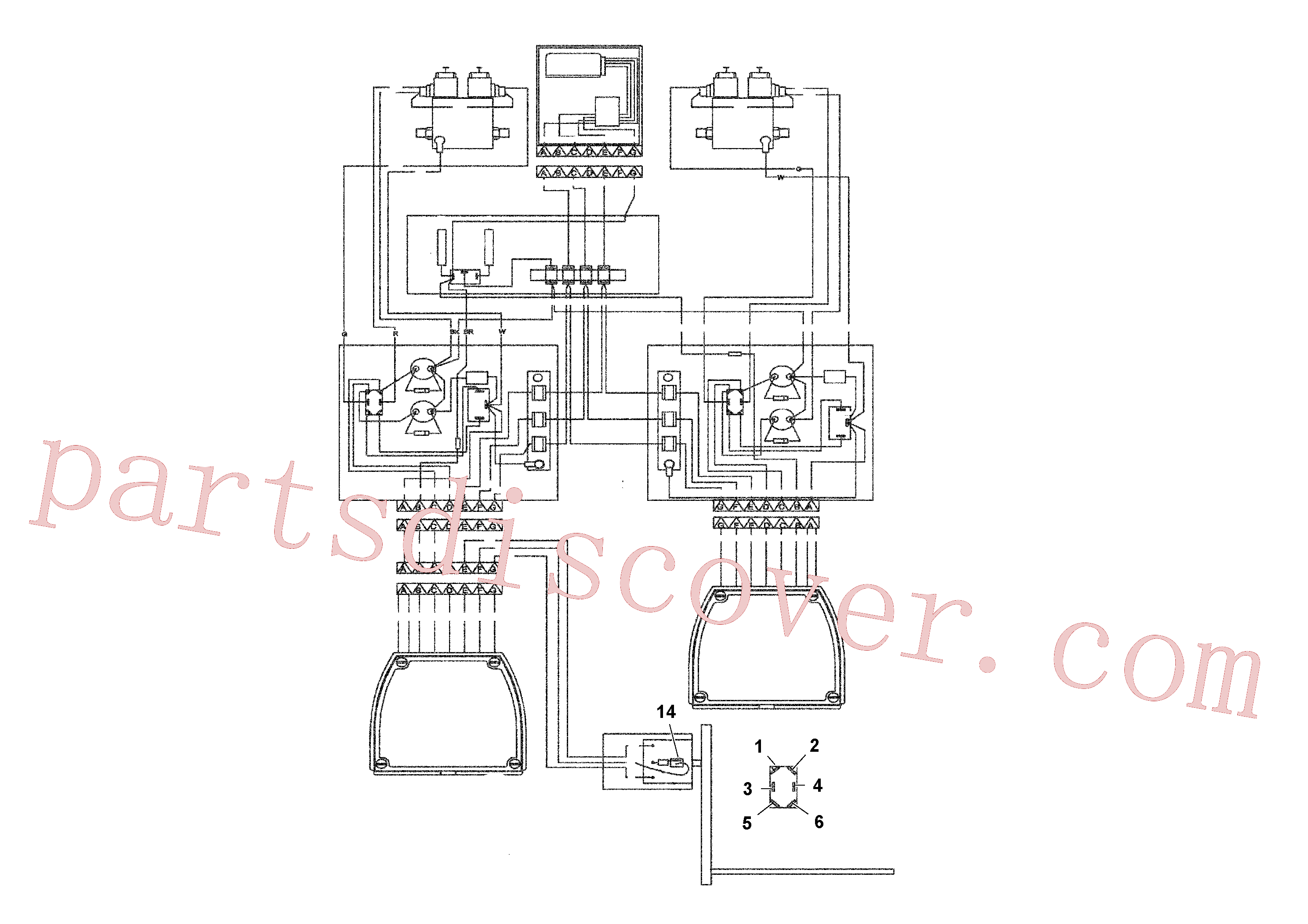 RM21144076 for Volvo Blaw-control Ii Electrical System(1039561 assembly)
