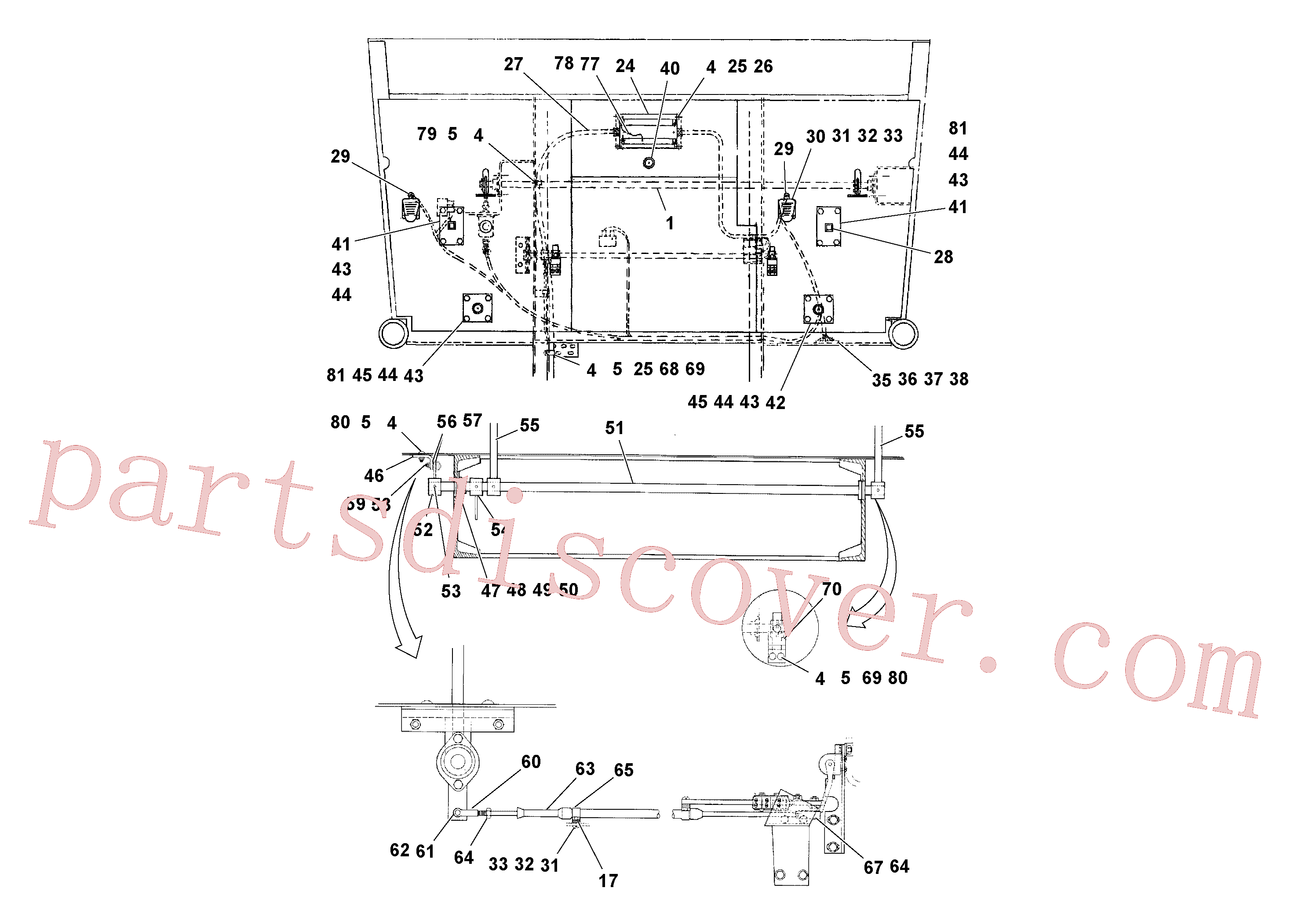 RM59374165 for Volvo Control Installation(1040059 assembly)