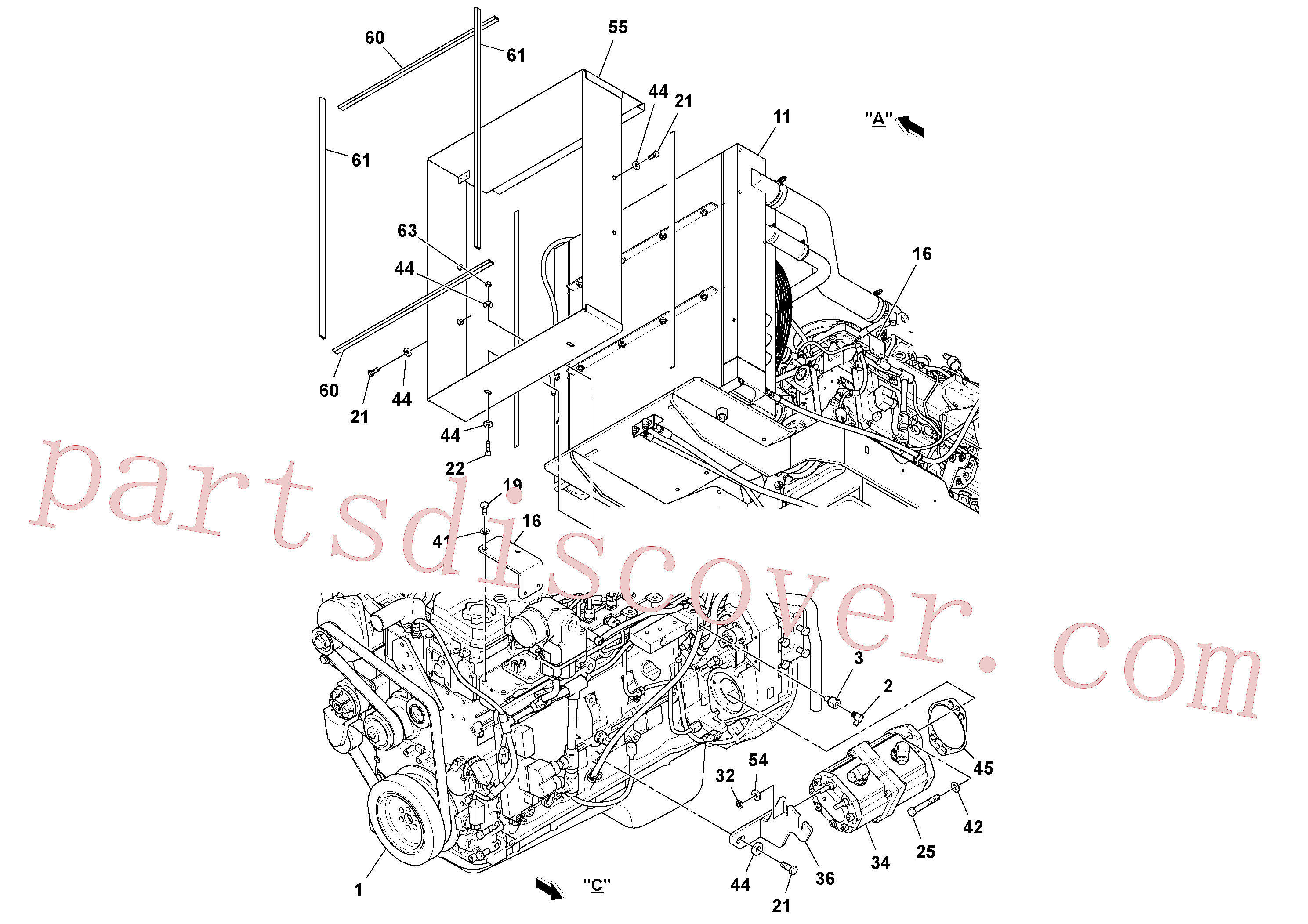 RM96719513 for Volvo Engine assembly(1044042 assembly)