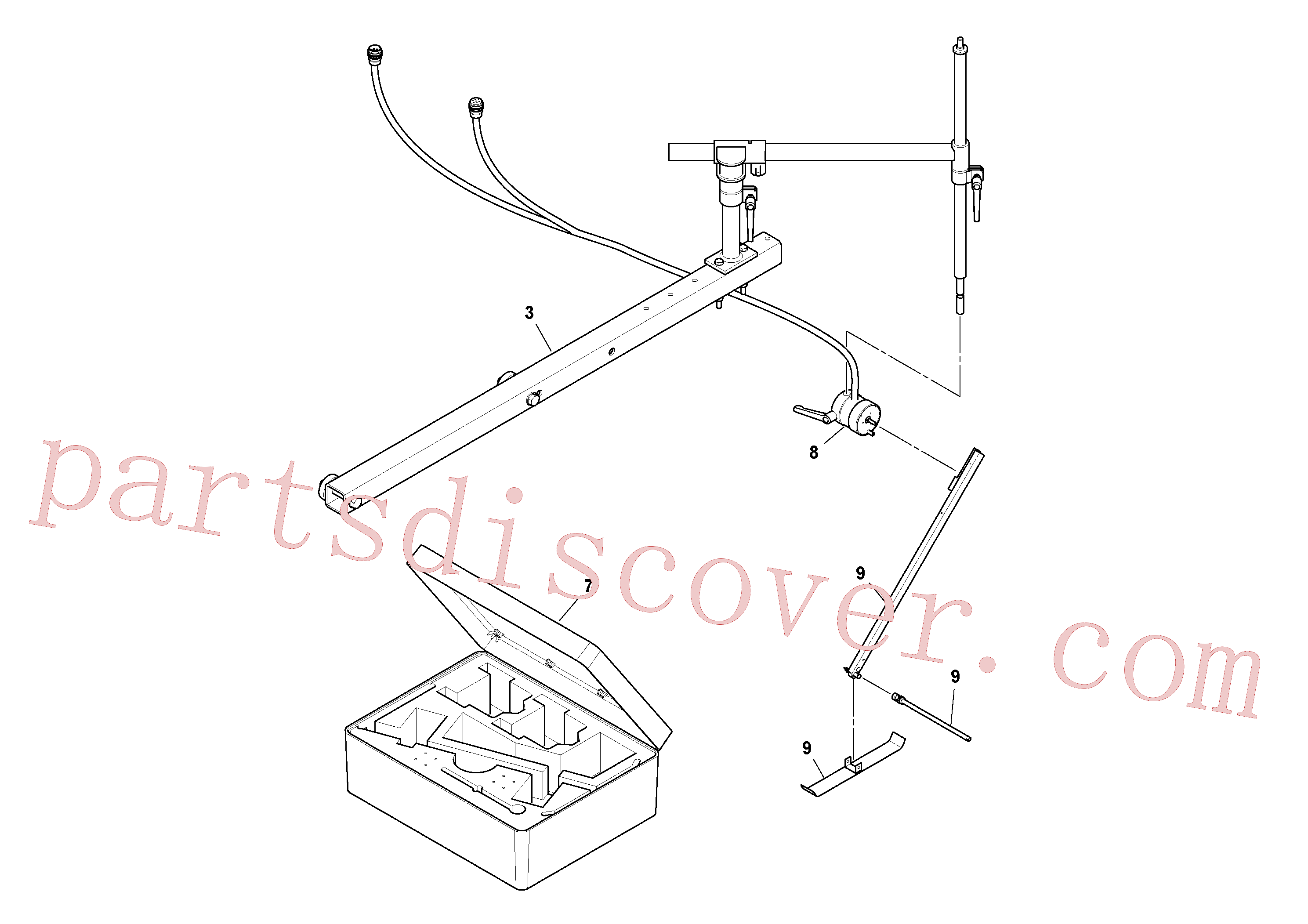 RM21144076 for Volvo Blaw Kontrol Installation(1054588 assembly)