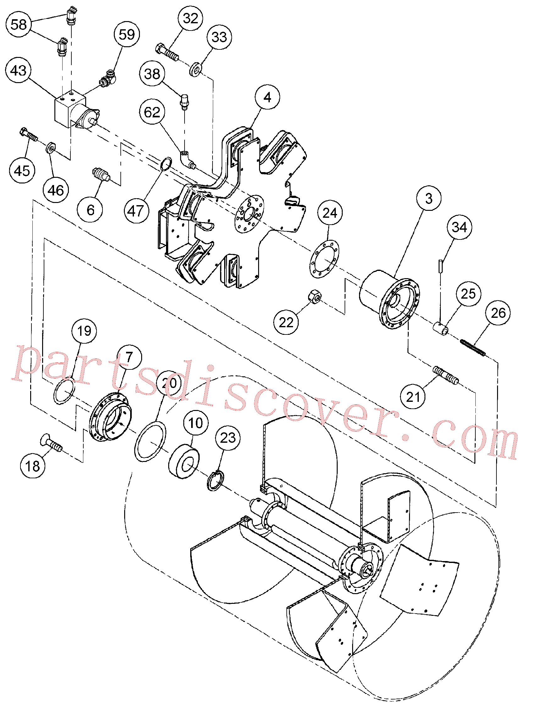 RM96703111 for Volvo Drum Assembly(1055849 assembly)