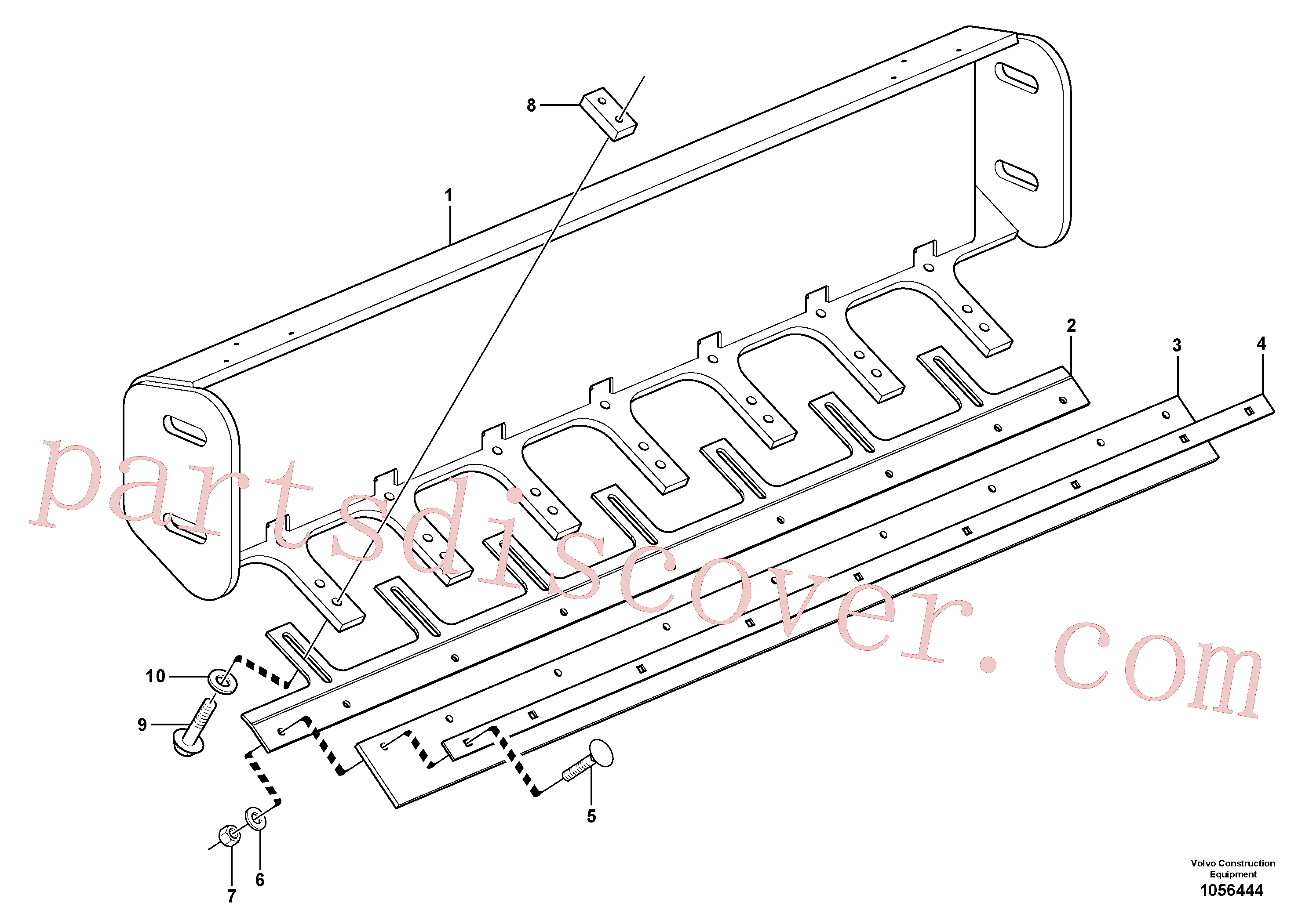 RM96704622 for Volvo Scraper Installation(1056444 assembly)