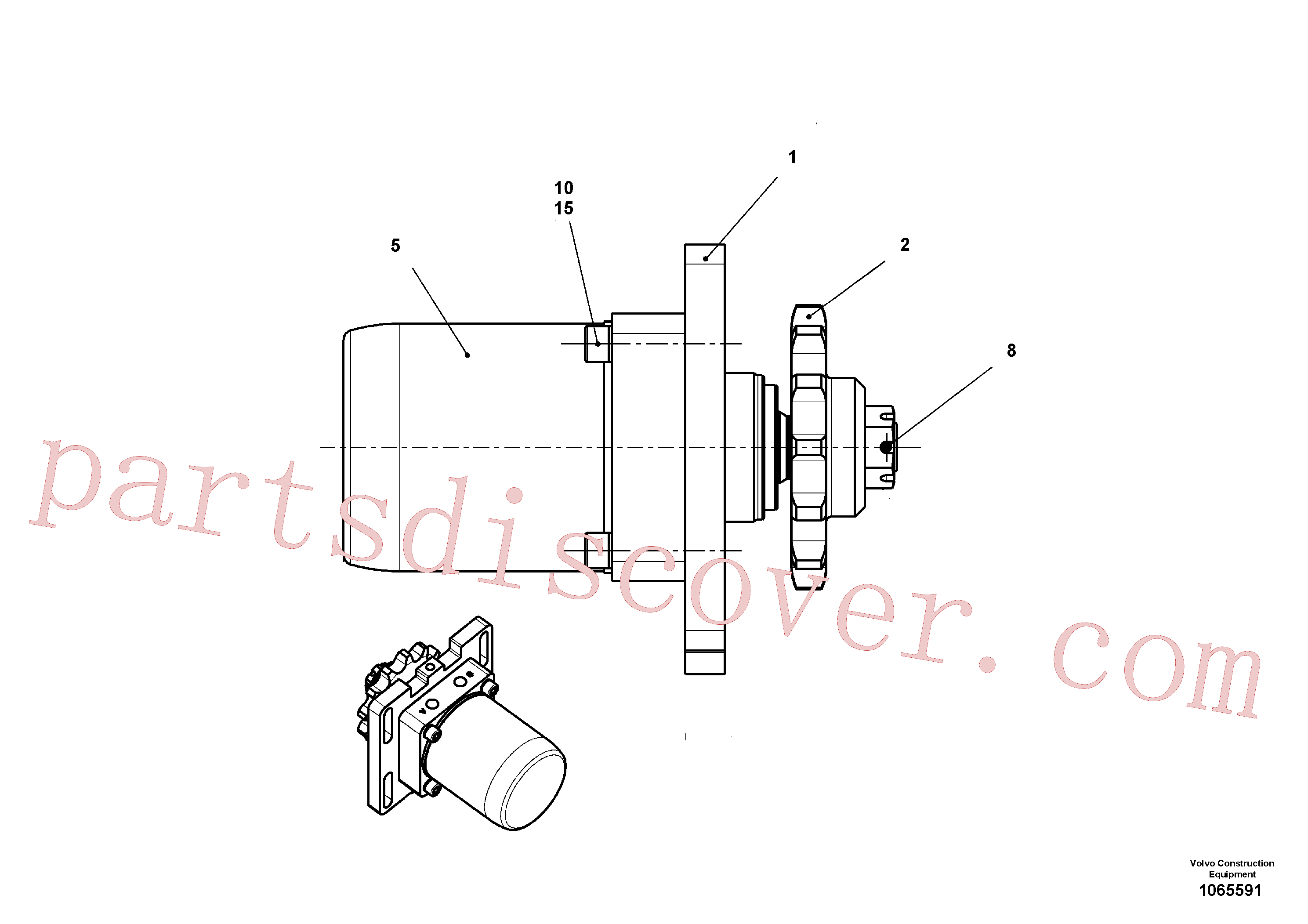 RM96725031 for Volvo Drive(1065591 assembly)