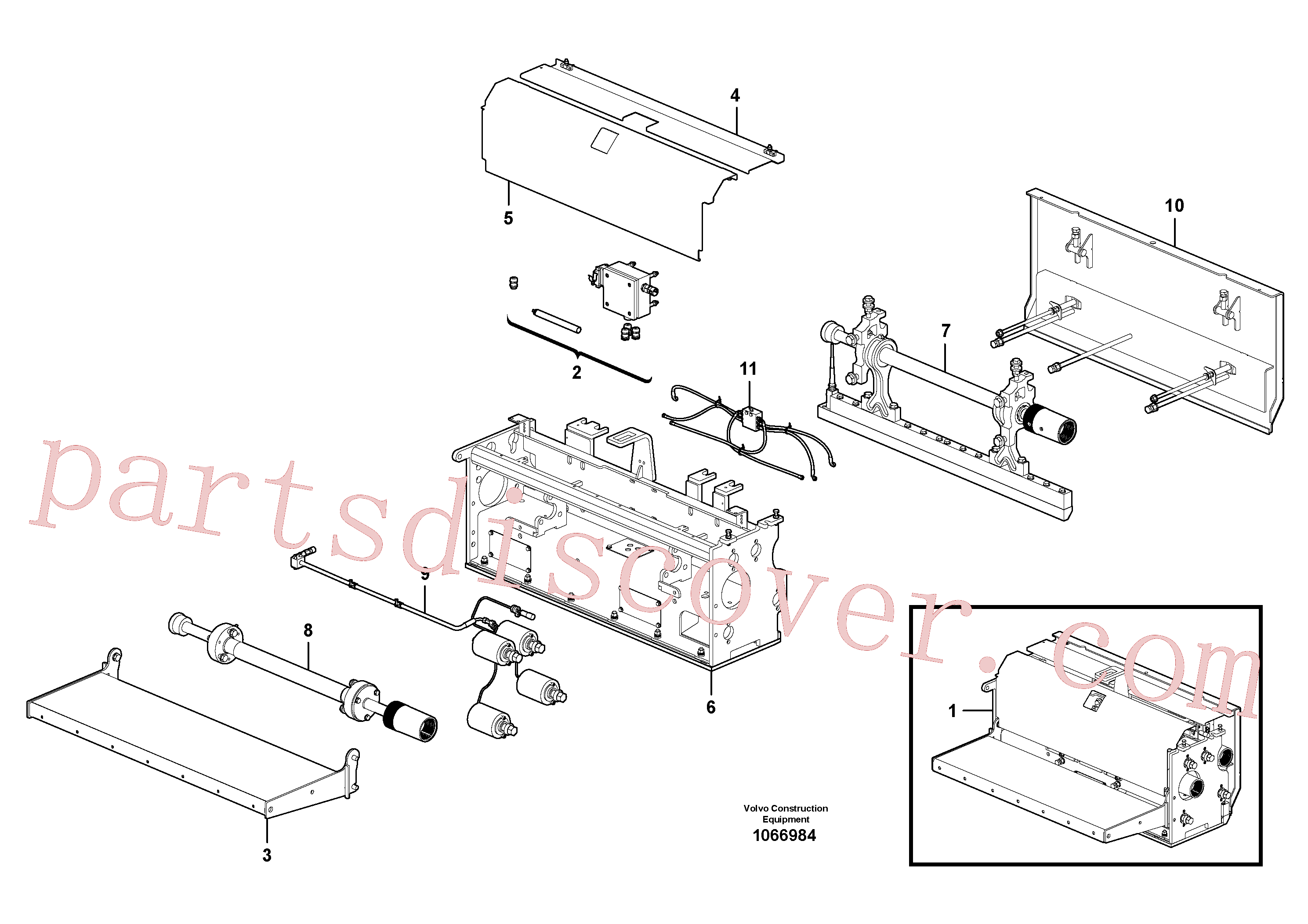 RM87968061 for Volvo Extension(1066984 assembly)