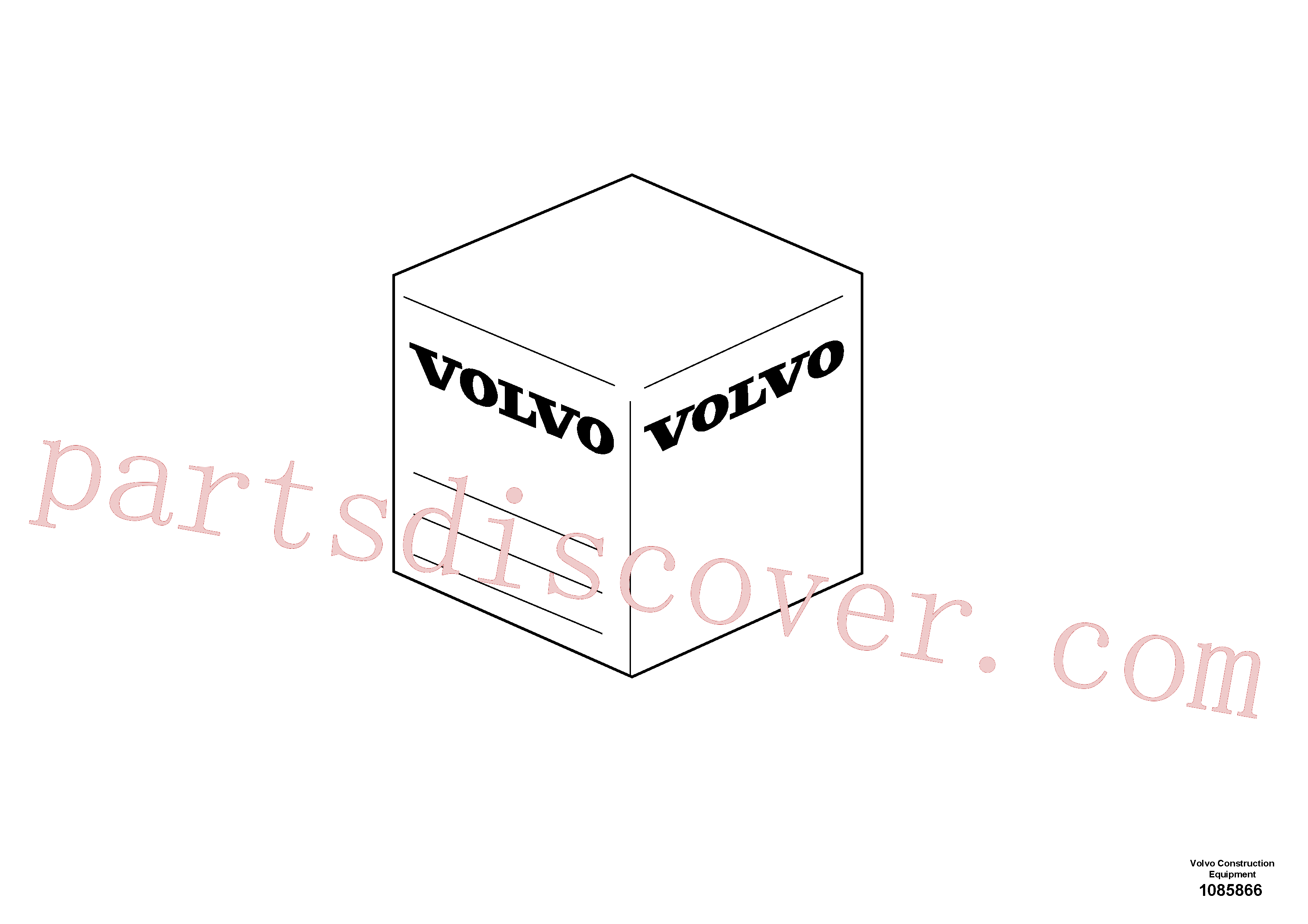 VOE14534565 for Volvo Service kit(1085866 assembly)