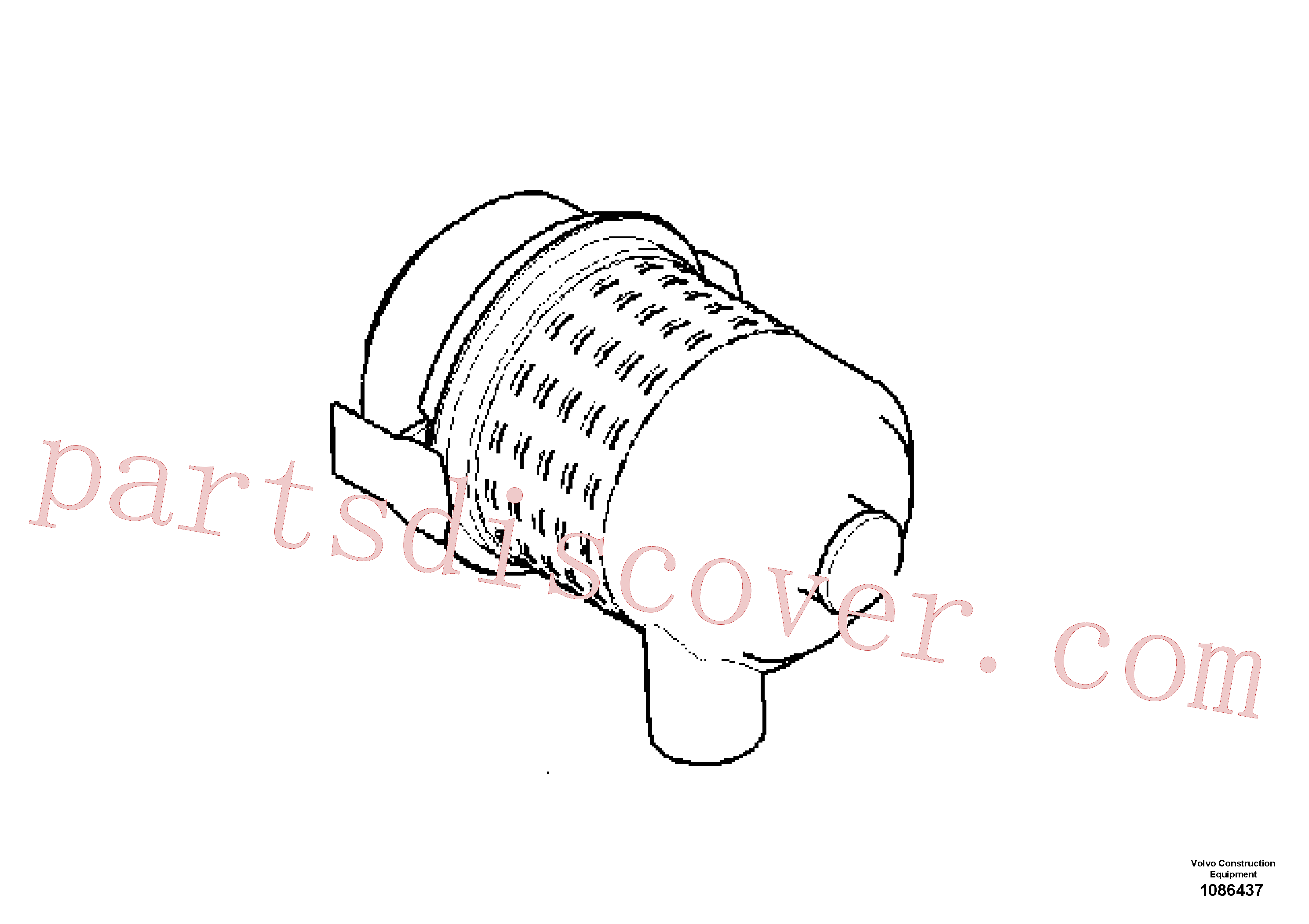 RM80858384 for Volvo Air Cleaner(1086437 assembly)