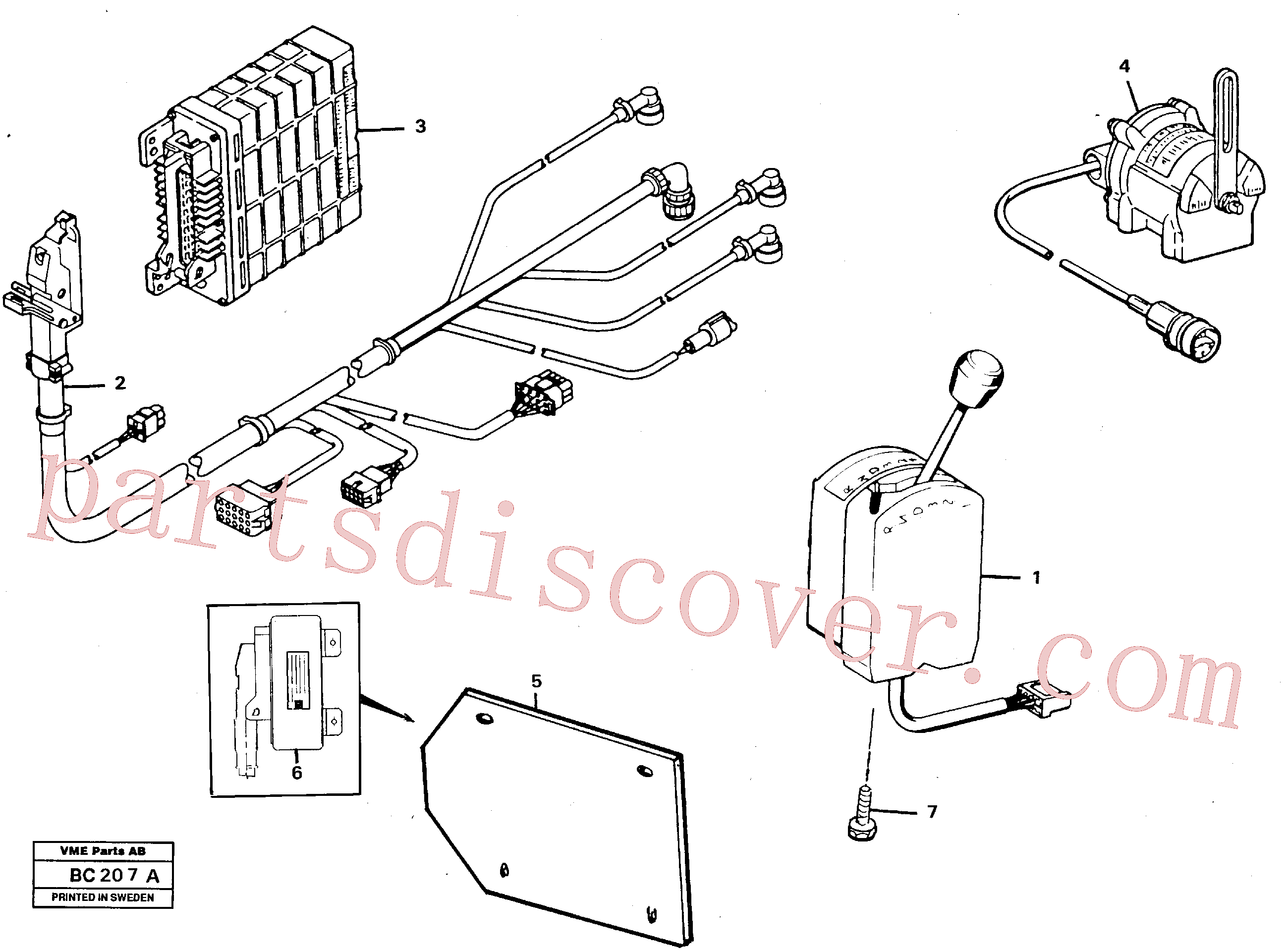 VOE13947361 for Volvo Peripherie parts(BC207A assembly)