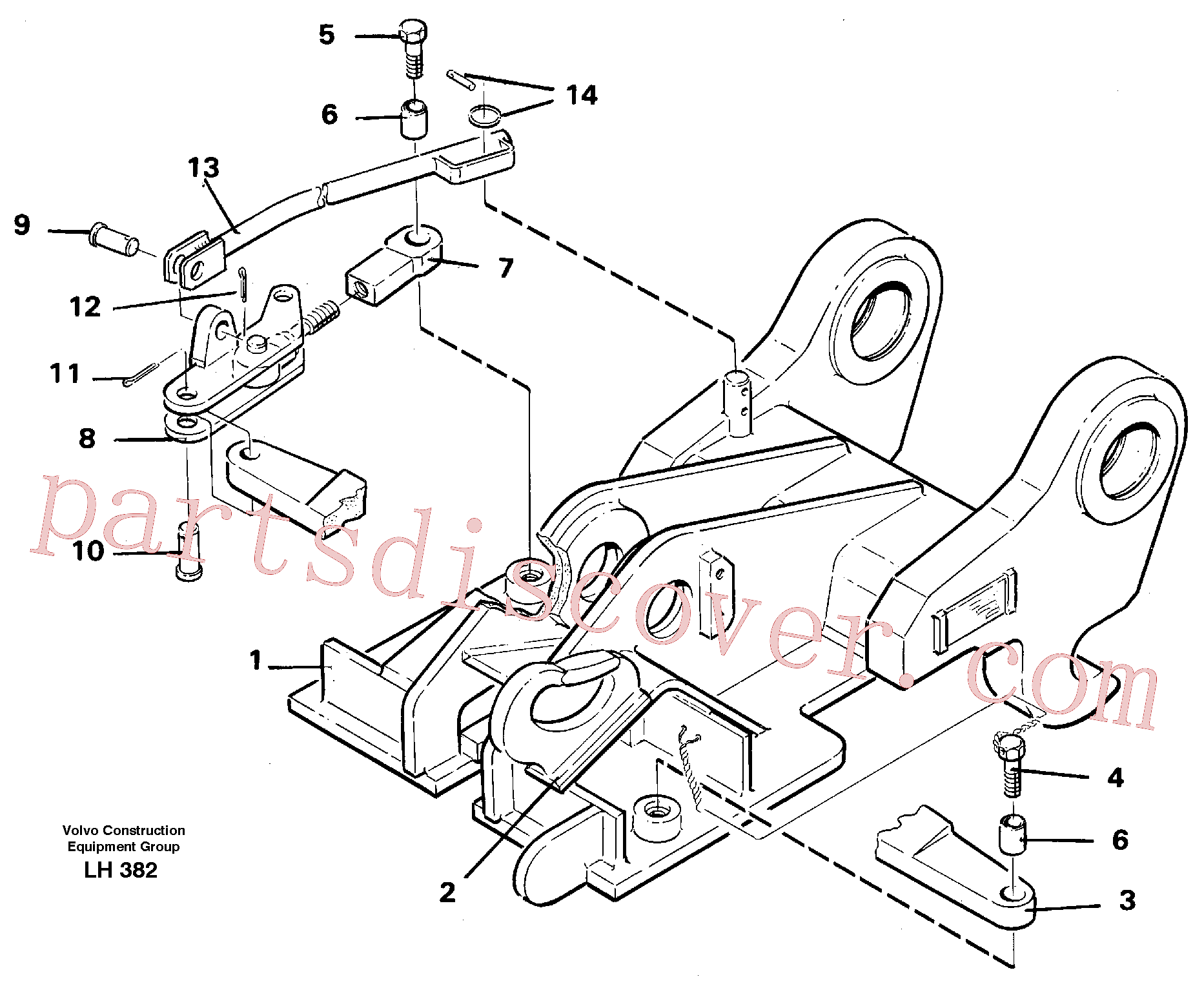 VOE14054560 for Volvo Quickfit, mechanical(LH382 assembly)