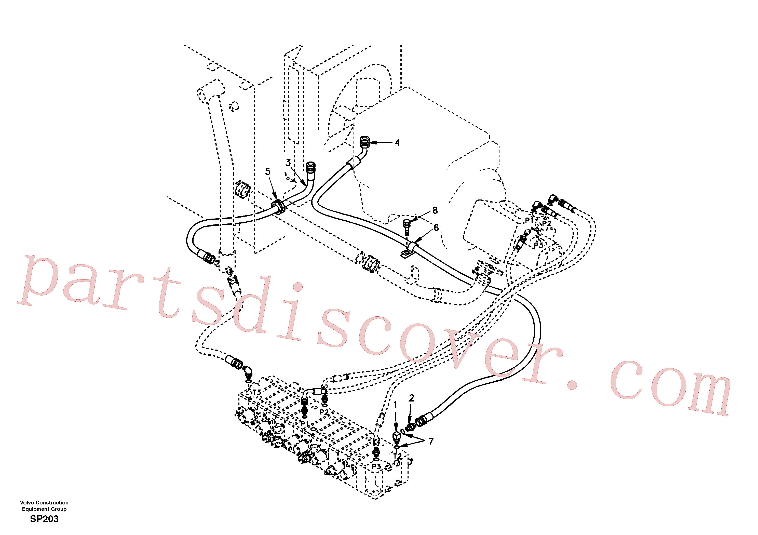 SA9412-11160 Connector for Volvo Excavator Parts