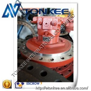 New REXROTH swing gearbox with motor A6VE107HZ3-63W-VZL22XB-S genuine rotation motor unit