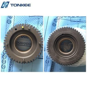 Lower price diesel pump S1350-52581 double connecting teeth J05E double teeth gear assy  HINO