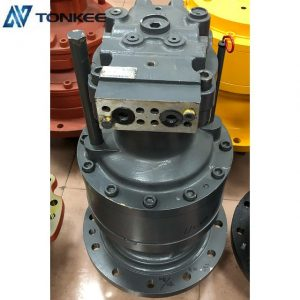 top performence rotation reductor R225-7 original new rotation swing device JEIL 22SM1510317 R225-7 complete genuine swing motor with gearbox assy for HYUNDAI excavator