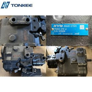 IHI 60 relief hydraulic motor PSCD2-27E-4 OEM YANMAR 60  piston pump B0600-27005 durable hydraulic pump with two solenoid for KUBOTA 60 excavator