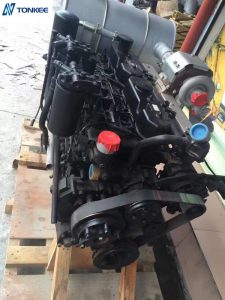GENUINE MITSUBISHI 3066 S6KT complete engine assy E320C 320C Engine assy for Excavator spare parts 2