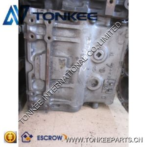 High power density cylinder body 3D84-2 engine block applied to excavator
