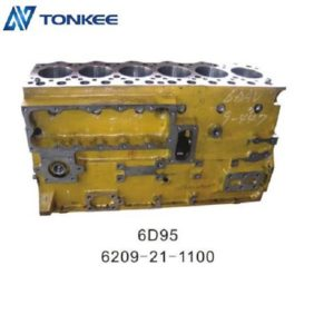 6D95 6209-21-1100 cylinder block & engine cylinder body for hydraulic excavator