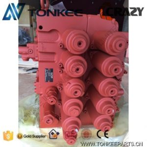 Red lower price KAWASAKI KPM KMX15RB-B45203 main control valve & hydraulic control vavle from SANY