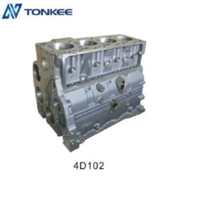 Long life 4D102 cylinder body & engine cylinder block fit for VOLVO EC290