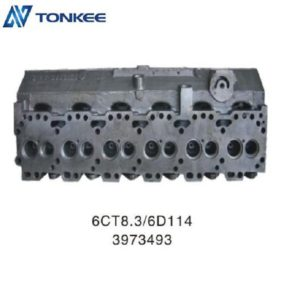 Long life 6CT8.3 6D114 3973493 cylinder block & engine cylinder body for hydraulic excavator